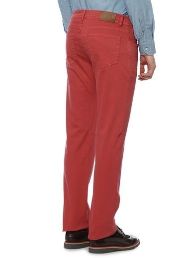 Luciano Barbera Pantolon Kırmızı